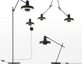 Arigato Lamps Set01 by Grupa 3D