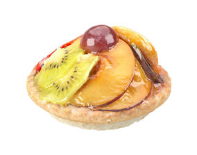 Photorealistic Mini Fruit Tart 3D Scan