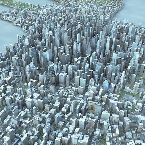 big city 47 3d model max obj mtl fbx tga 1