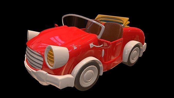 asset - cartoons - car - 01 - 3d model 3d model max obj mtl fbx ma mb hrc xsi tga 1