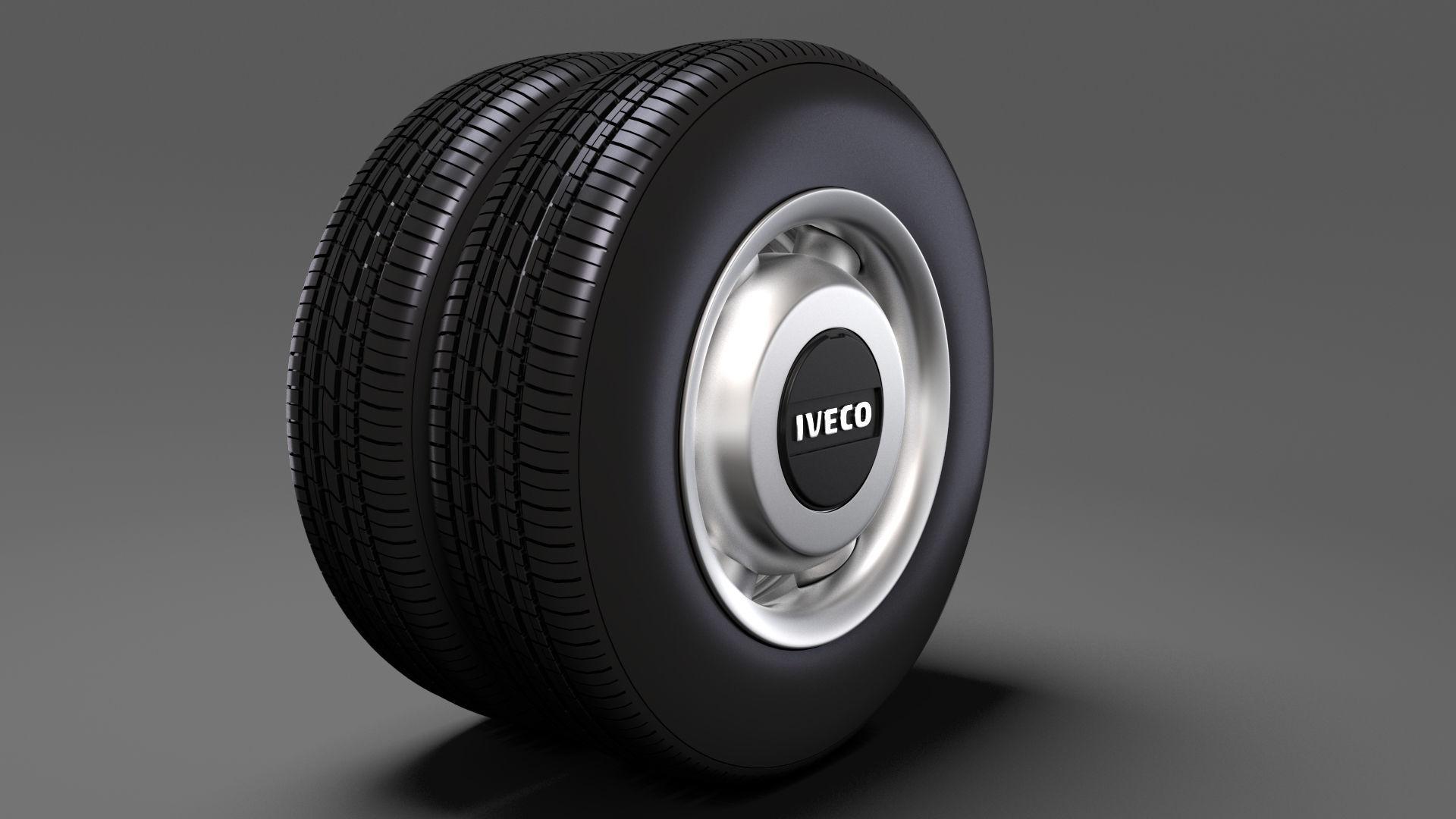 Iveco Daily Minibus rear wheel 2017