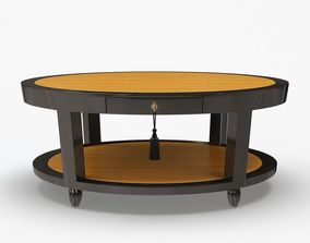 3D DEMILLE COFFEE TABLE - OVAL