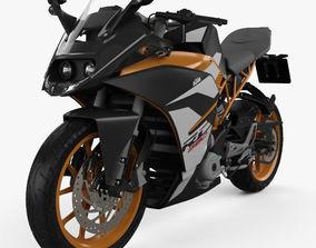 3D model KTM 390 RC 2017