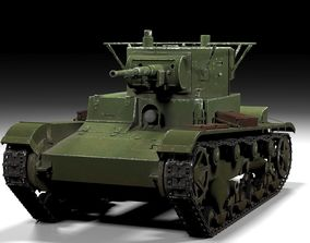 T26 3d model armored