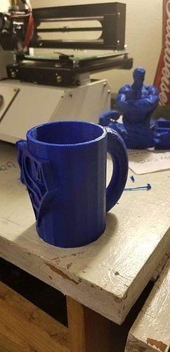 superman-cup 3d model stl 1