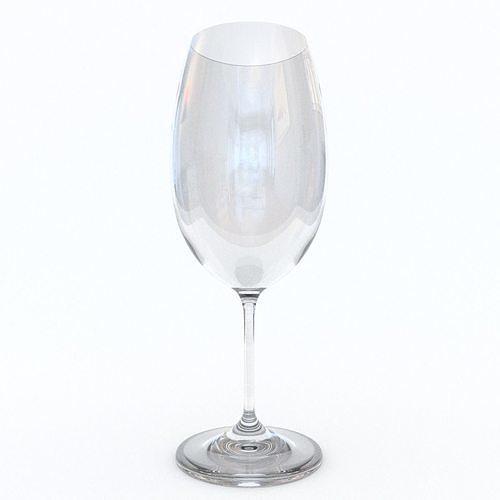 large bordeaux red wine glass 3d model obj mtl 3ds fbx blend 1