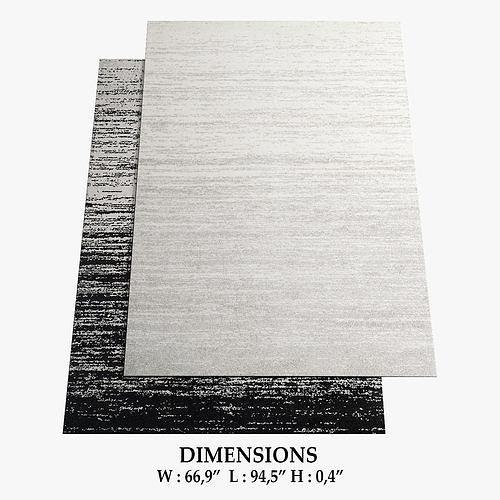 allmodern rugs 276 3d model max obj mtl fbx 1