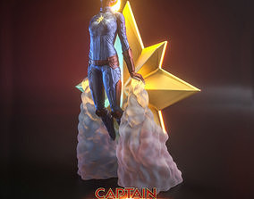 CAPTAIN MARVEL 3D print model