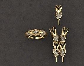 jewelry full set free dowland 3D print model