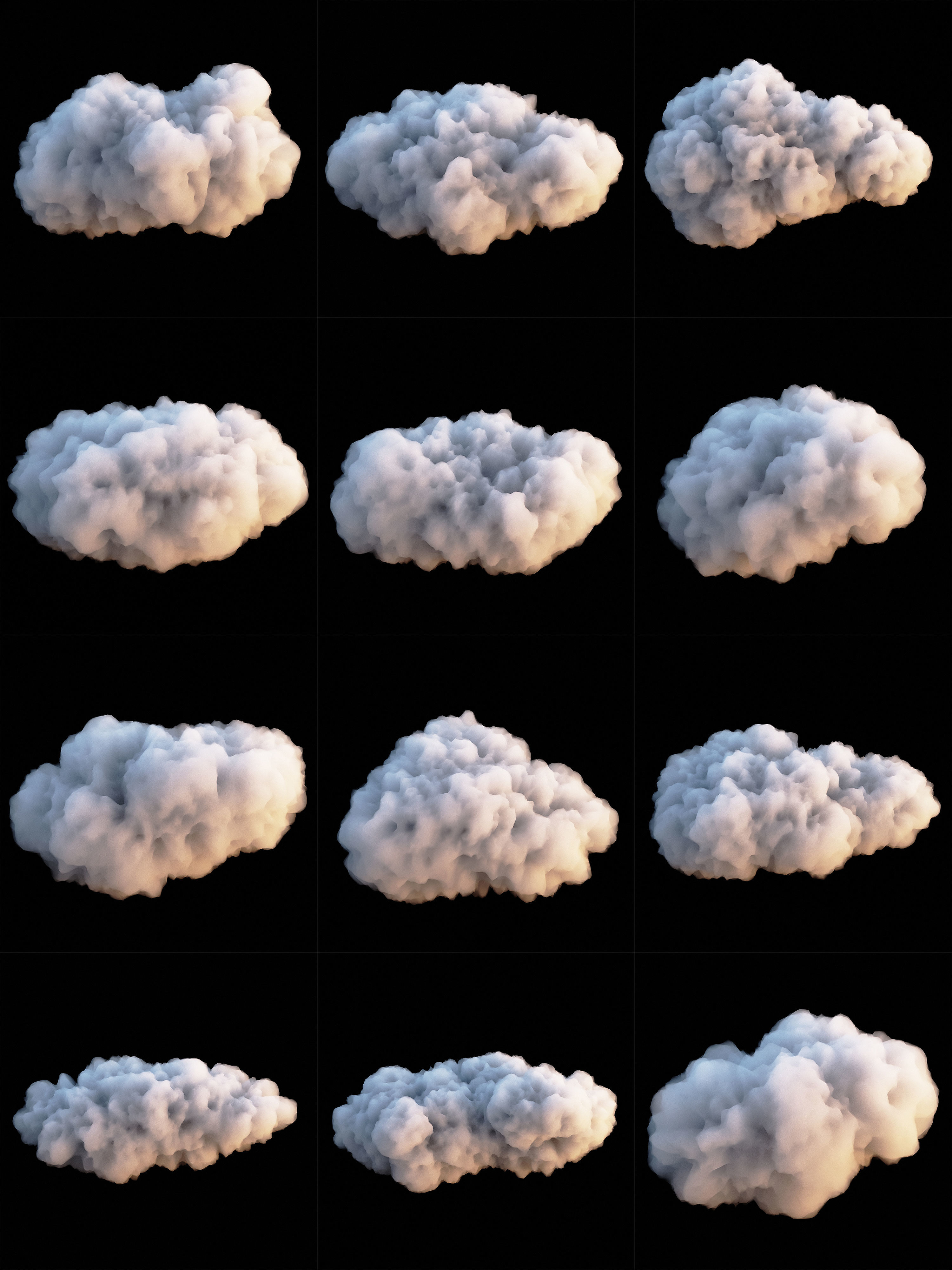 Clouds Set 3