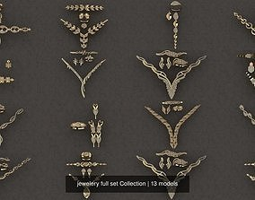 jewelery full set Collection 3D model