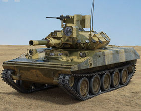 M551 Sheridan 3D