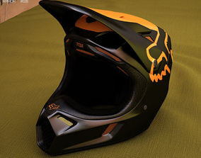 3D model Fox V3 Moth Helmet