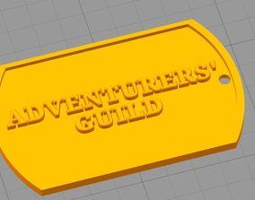 3D printable model Goblin slayer badge
