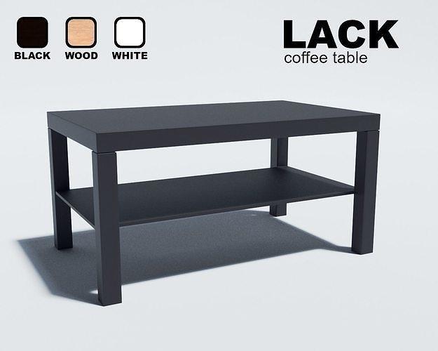 Ikea Lack Coffee Table Model