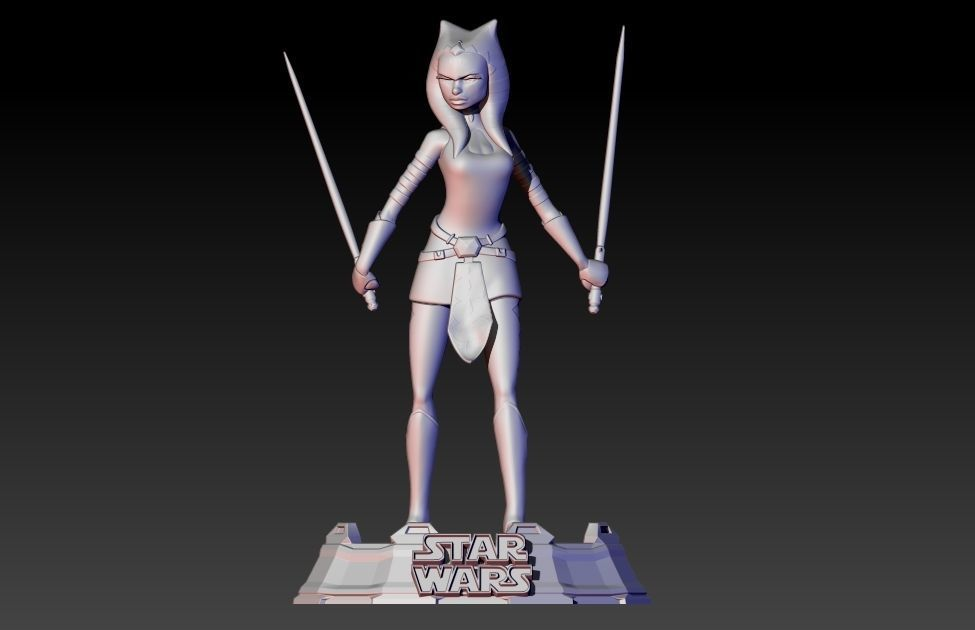 Ahsoka Tano from Clone Wars series