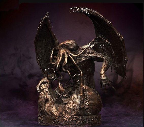 monster cthulhu  3d 3d model stl 1