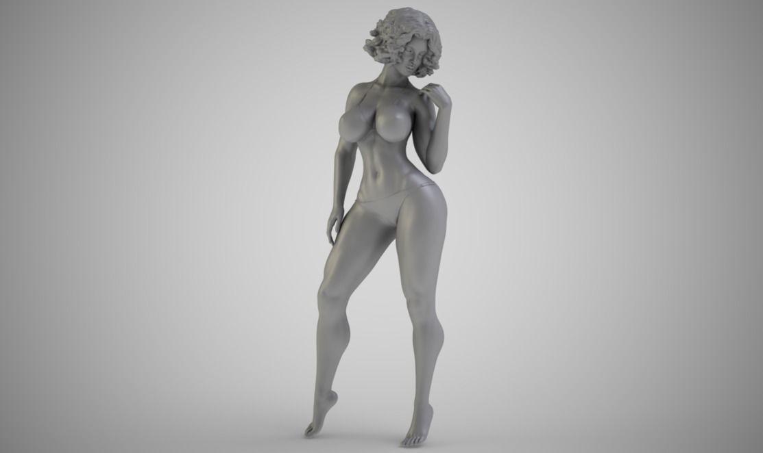 Girl in a Bikini