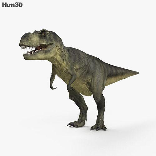 tyrannosaurus hd 3d model max obj mtl 3ds fbx c4d lwo lw lws 1