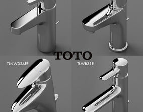 3D model toto faucets collection 2