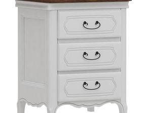 3D Dantone Home Salon-De-Provans bedside table