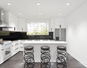 model 3ds Modern style kitchen