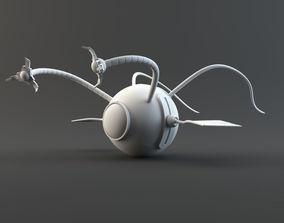 3D model bird Drone