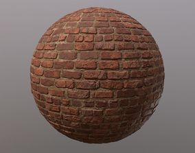 Brick Wall Texture 3D
