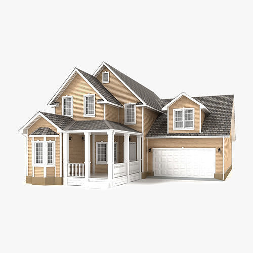 cottage 76 3d model max obj mtl 3ds fbx tga 1