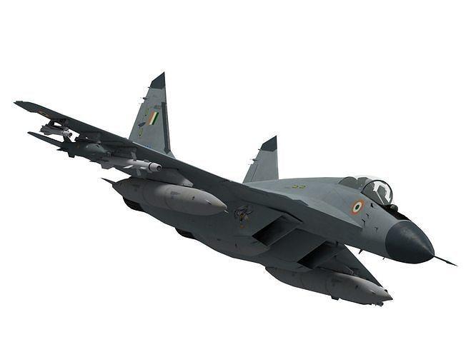 mikoyan gurevich mig-29 k navy version 3d model max obj mtl fbx 1