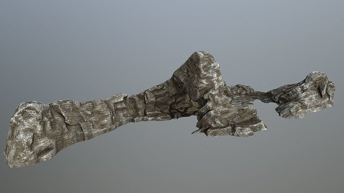 rocks 3d model low-poly obj mtl fbx blend 1