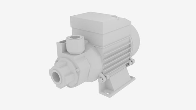 Qb Series Clean Water Pump 3D 3Ds 3D Model 3DModeling