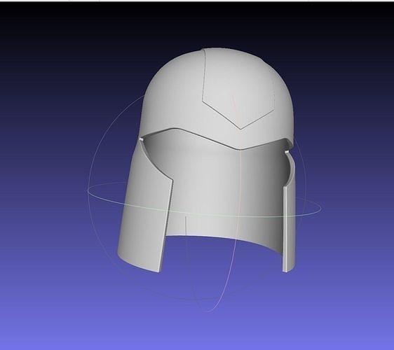 gi joe cobra commander helmet 3d model obj mtl 3ds dxf stl dae sldprt sldasm slddrw 1