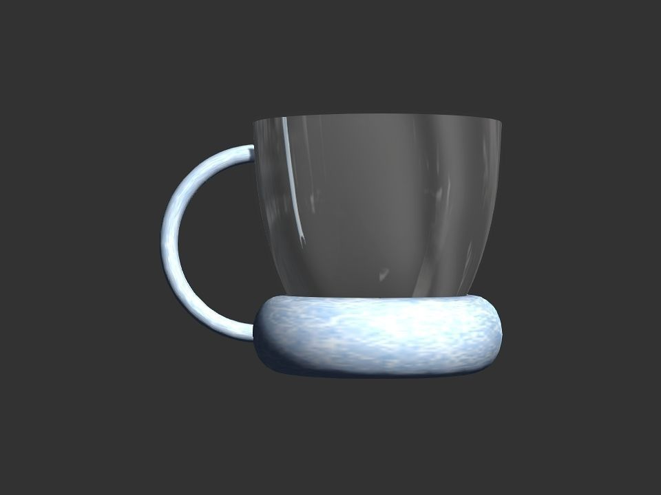 3D printable cup
