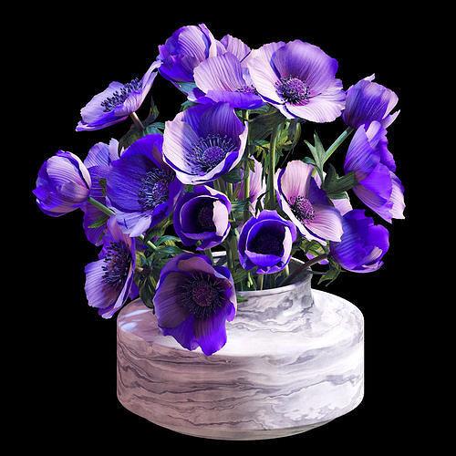 bouquet 02  3d model max obj mtl fbx 1