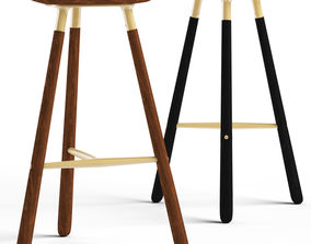 3D Cult Living Roise Bar Stool