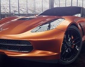 Chevrolet Corvette Stingray 3D