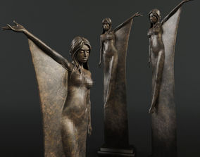 Seraphina Sculpture by Michael James Talbot 3D
