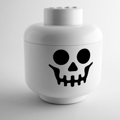 lego Skeleton Storage Head by Lego 3D | CGTrader