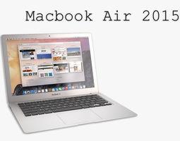 The New MacBook Air 2015 3D Model