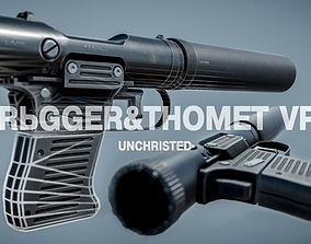 VP9 Silenced pistol 3D model