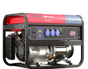 gasoline generator Fubag BS 6600 3D model power