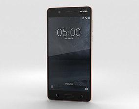 3D model Nokia 5 Copper