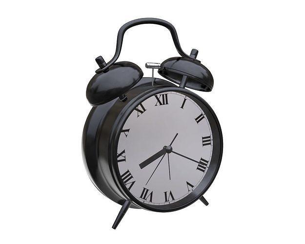 alarm clock 3d model max obj mtl fbx mdl 1