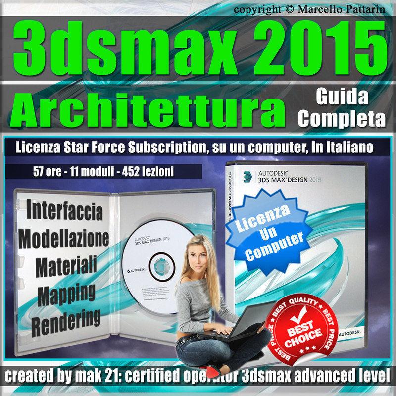 3ds max 2015 Architettura Guida Completa un Computer