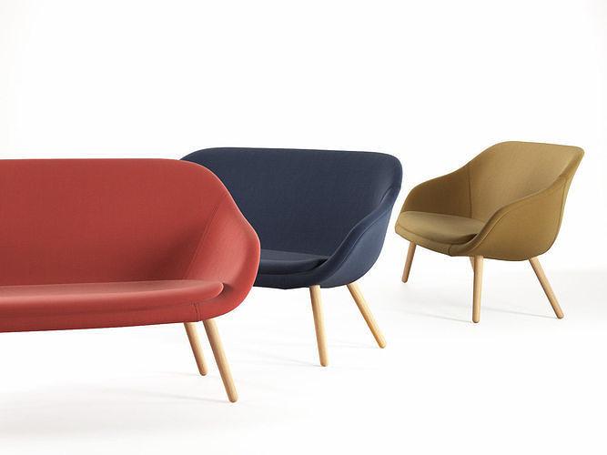 about a lounge sofa 3d model max obj mtl fbx c4d skp mxs 1