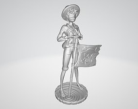 3D printable model Luffy