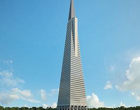 3D Transamerica Pyramid