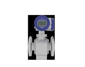 3D Electromagnetic water meter