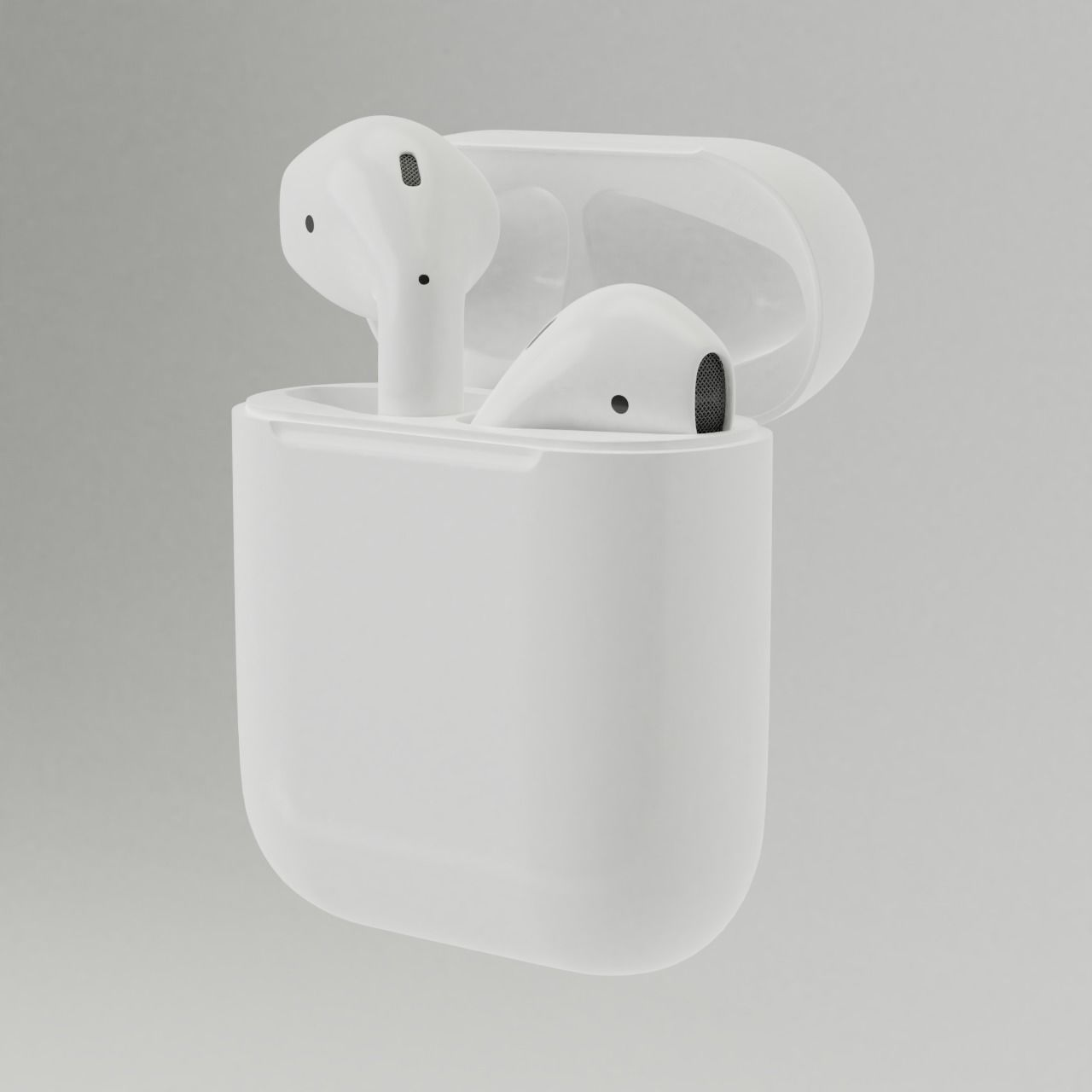 3d Model Earphone Apple Airpods Cgtrader